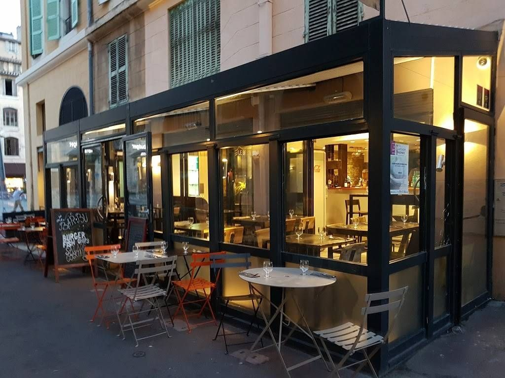 Le restaurant - Bar Bû - Restaurant Marseille